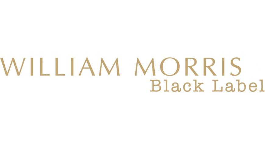 william morris black label logo